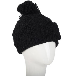 Secret Pocket Bobble Hat