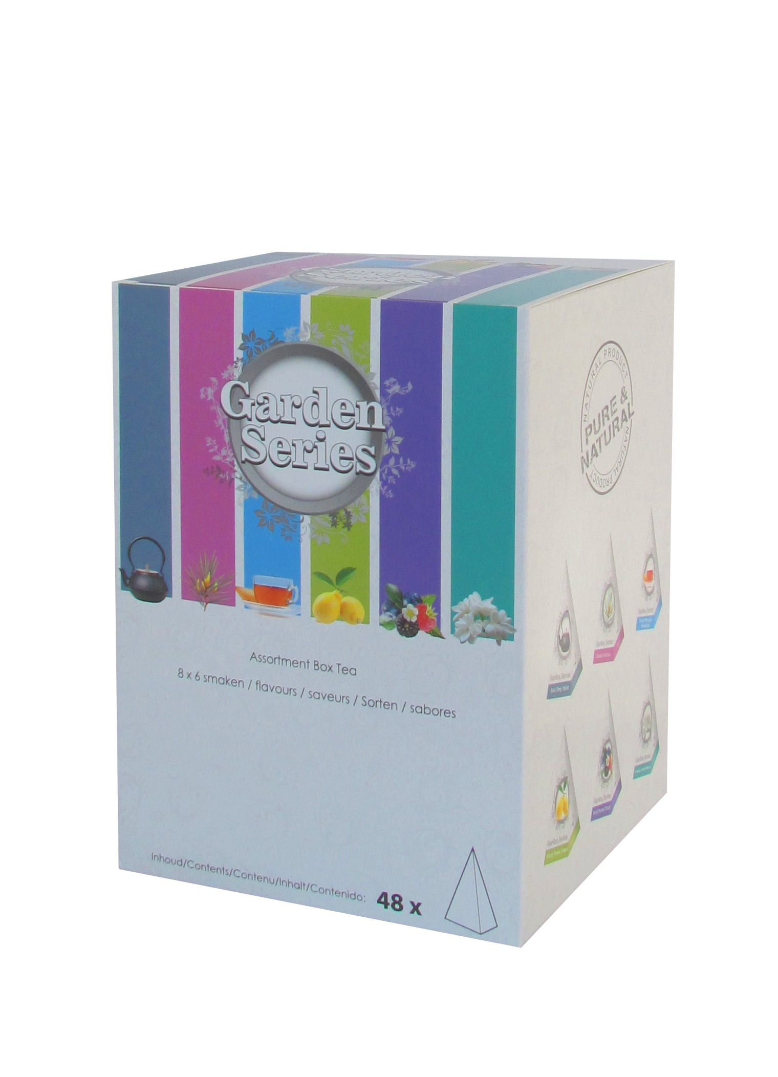 Garden Series Assortibox 8 x 6 smaken -  Pyramid Tea
