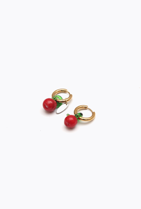 Double Earrings Manzana