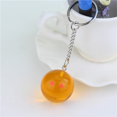Porte Clés Boule de Crystal Dragon Ball Z - Mangashop.fr