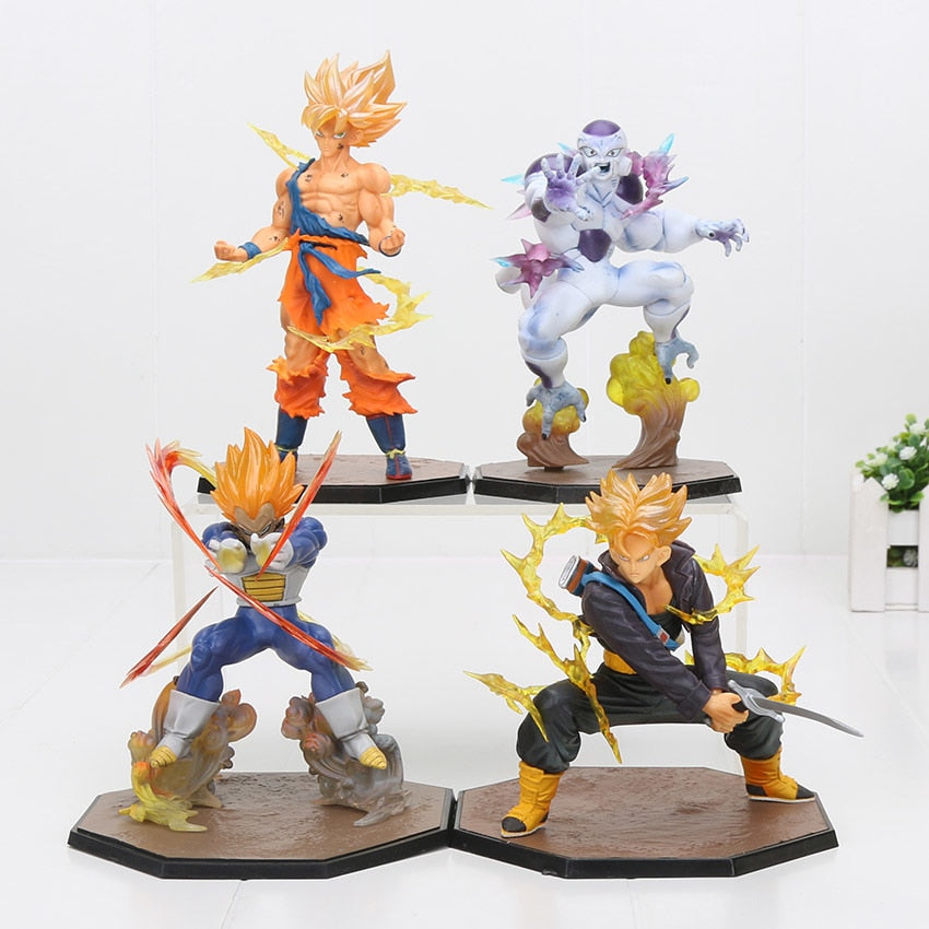 Dragon Ball Z Super Saiyan  Son Gokou Vegeta Freeza Trunks - Mangashop.fr