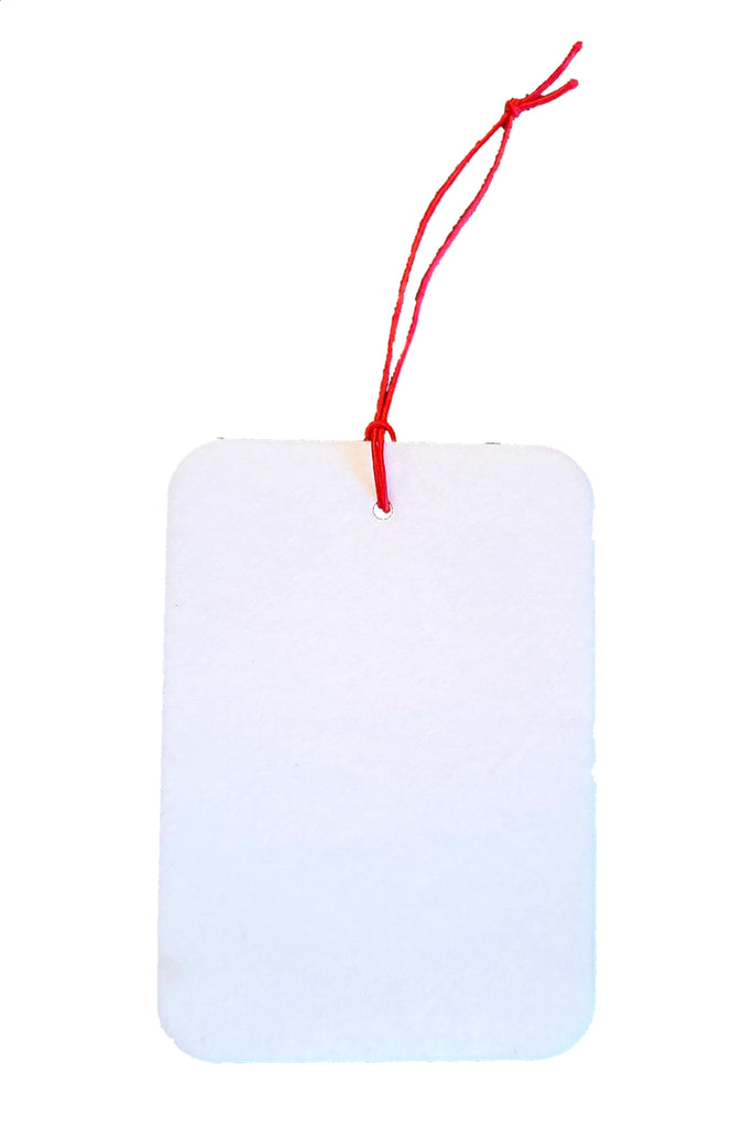 Ink Trendz® Blank Rectangle Sublimation Air Fresheners | Unscented | Sublimation Blanks