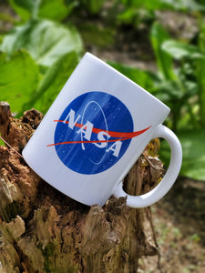 Ink Trendz® Nasa signature Meatball Logo Space Exploration 10 oz. Coffee Mug