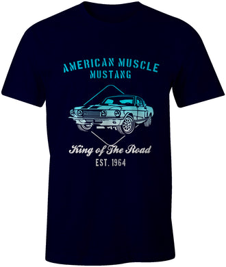 American Muscle Ford Mustang est. 1964 Car T-Shirt