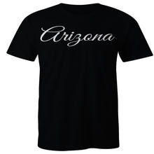 Load image into Gallery viewer, Arizona Calligraphy T-shirt