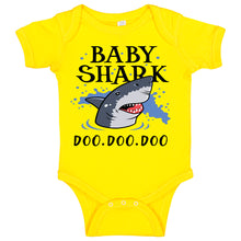 Load image into Gallery viewer, Ink Trendz® Baby Shark Doo. Doo. Doo. Baby Bodysuit Romper