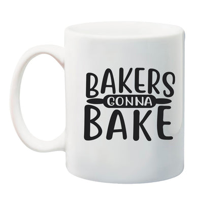 Ink Trendz Bakers Gonna Bake Rolling Pin 11 oz. Ceramic Coffee Mug