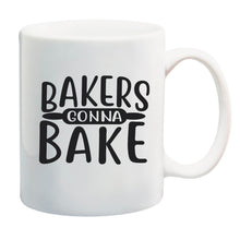 Load image into Gallery viewer, Ink Trendz Bakers Gonna Bake Rolling Pin 11 oz. Ceramic Coffee Mug
