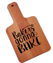 Load image into Gallery viewer, Ink Trendz Bakers Gonna Bake Standard Decorative Charcuterie Cheese Cutting Board