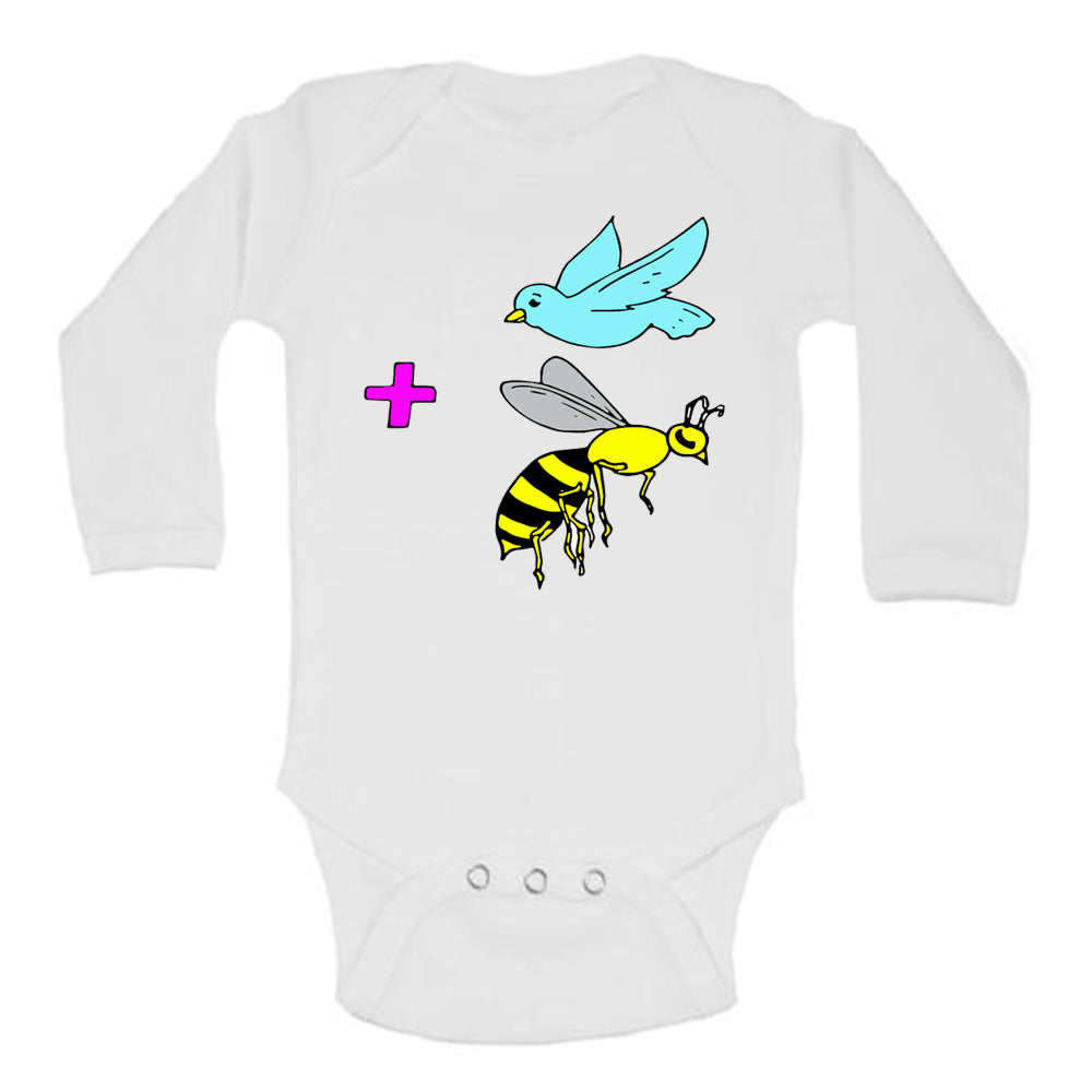 The Birds and The Bees Baby Bodysuit