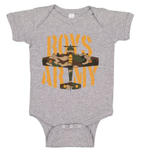 Load image into Gallery viewer, Ink Trendz® Boys Army WWII Fighter Plane Infant Bodysuit Romper