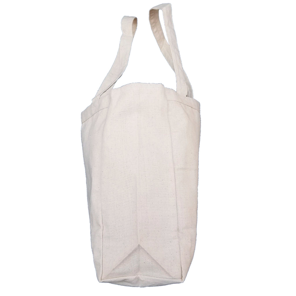 Ink Trendz® CALIFORNIA Surf Beach Bag 10oz. Natural Canvas Cotton Tote