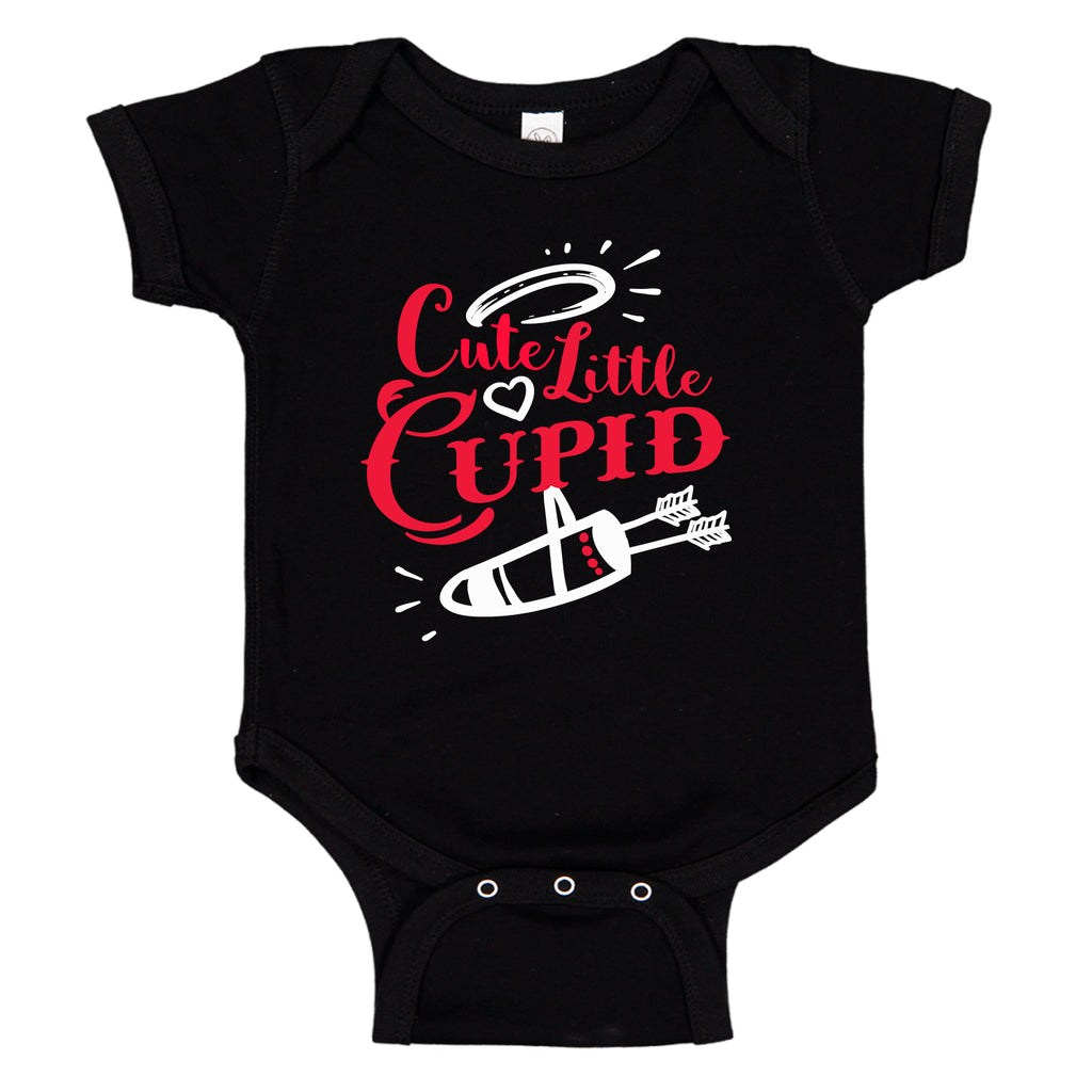 Ink Trendz® Cute Little Cupid Valentines Day Infant - Toddler Baby Bodysuit