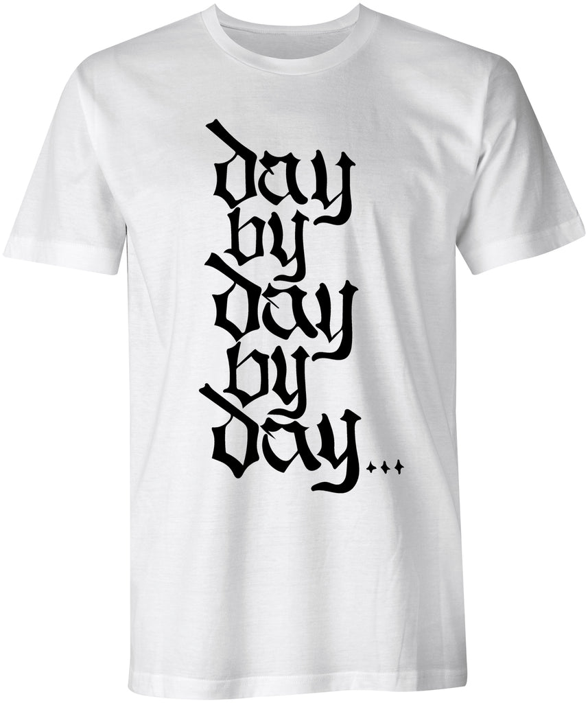 day by day by day... T-Shirt By Jelani Billie