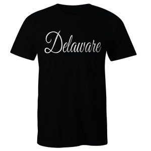 Delaware Calligraphy T-shirt