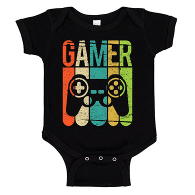 Video Games Gamer Cute Baby Bodysuit Romper