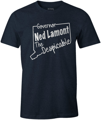 Governor Ned Lamont The Despicable Funny High Taxed Connecticut Unisex T-Shirt
