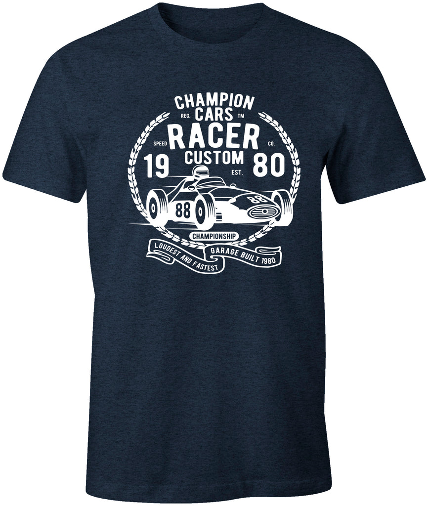 Champion Cars Racer Racing Car T-Shirt