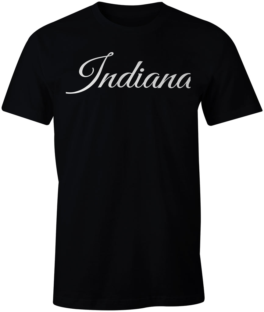 Indiana Calligraphy T-shirt