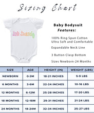 Load image into Gallery viewer, Ink Trendz® And So The Adventure Begins Baby Pregnancy Announcement Baby Bodysuit One piece Romper