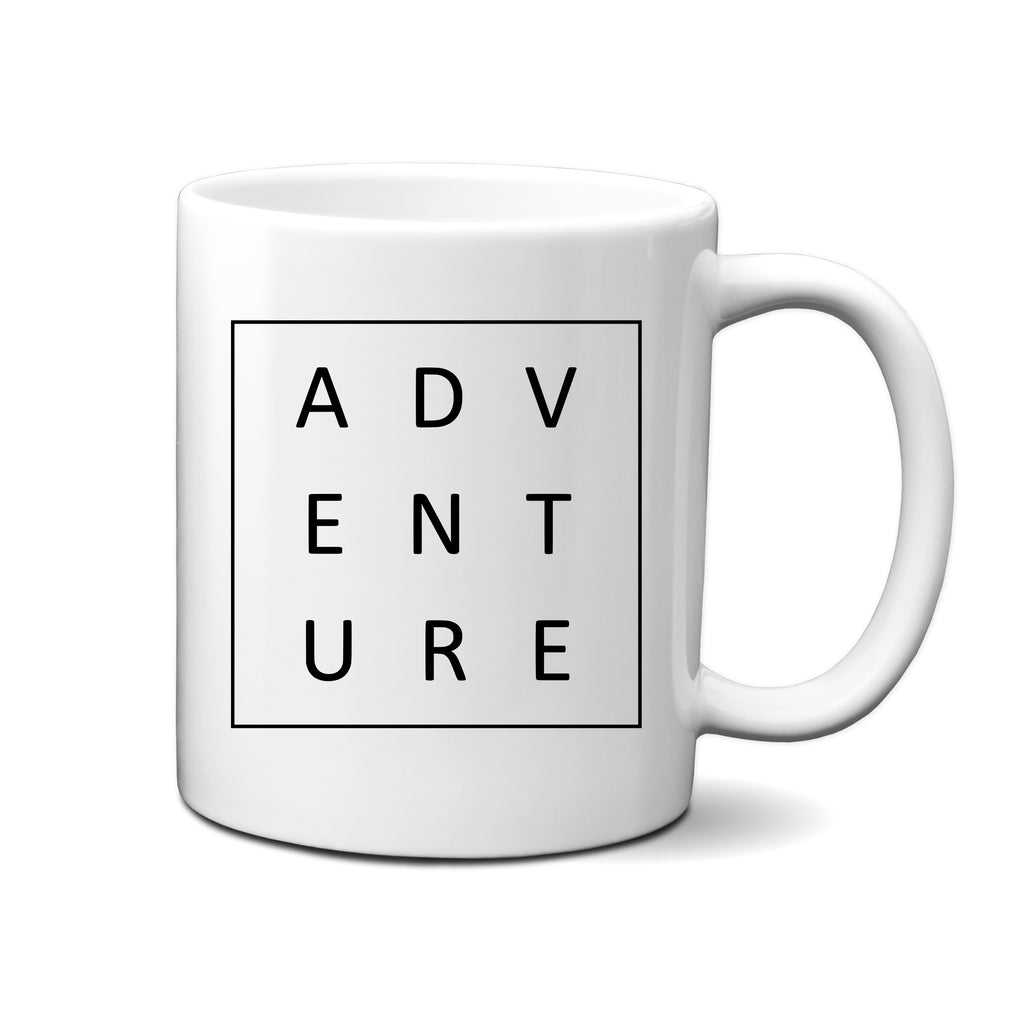 Ink Trendz® Adventure Boxed  11 oz. Ceramic Coffee Mug