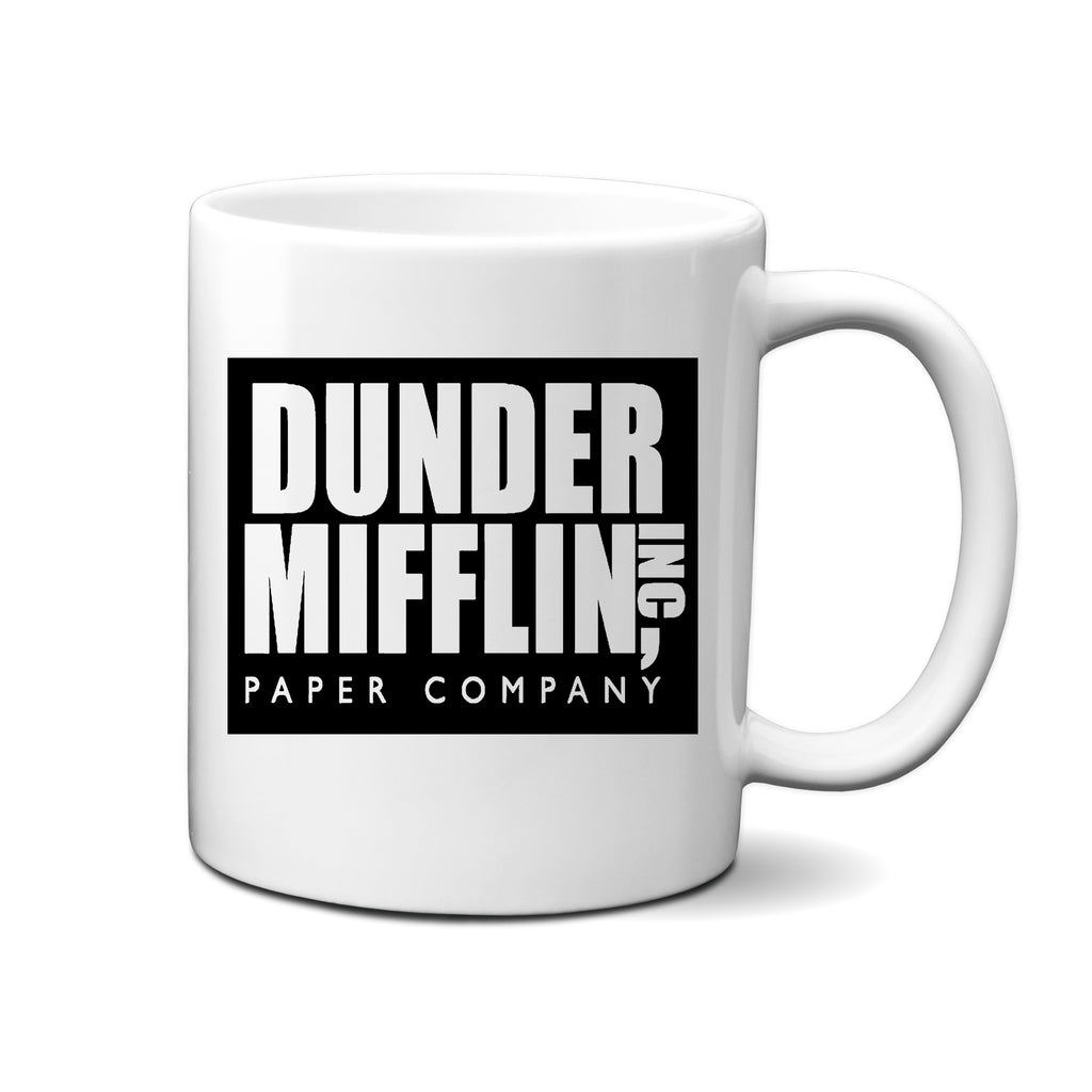 Ink Trendz® Ink Trendz Dunder Mifflin The Office - Funny Coffee Mug 11 Oz. Coffee Mug Cup O-2, the office Merchandise, The Office Swag, The Office Gear, the worlds best Boss Coffee Mug