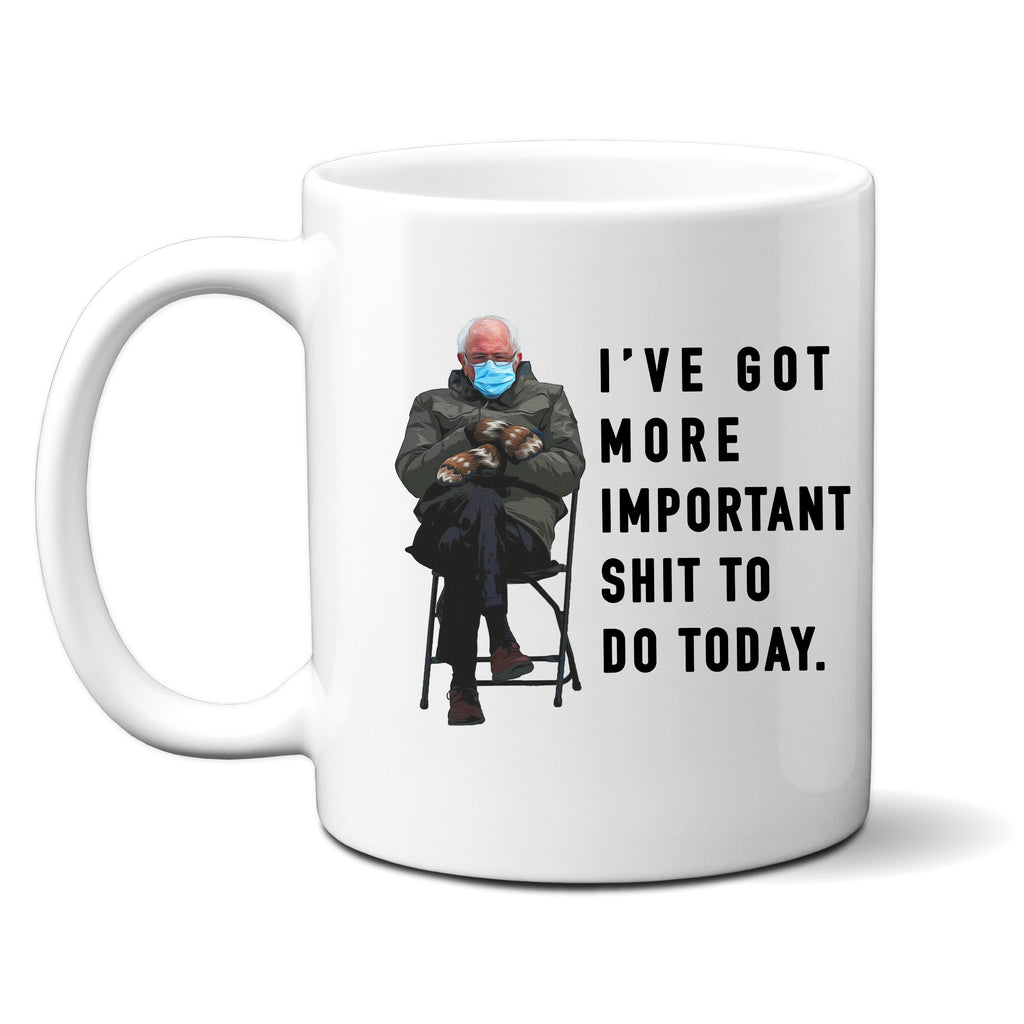 Ink Trendz® Bernie Meme This Could Have Been An Email Funny Political 11 Oz. Coffee Mug Cup