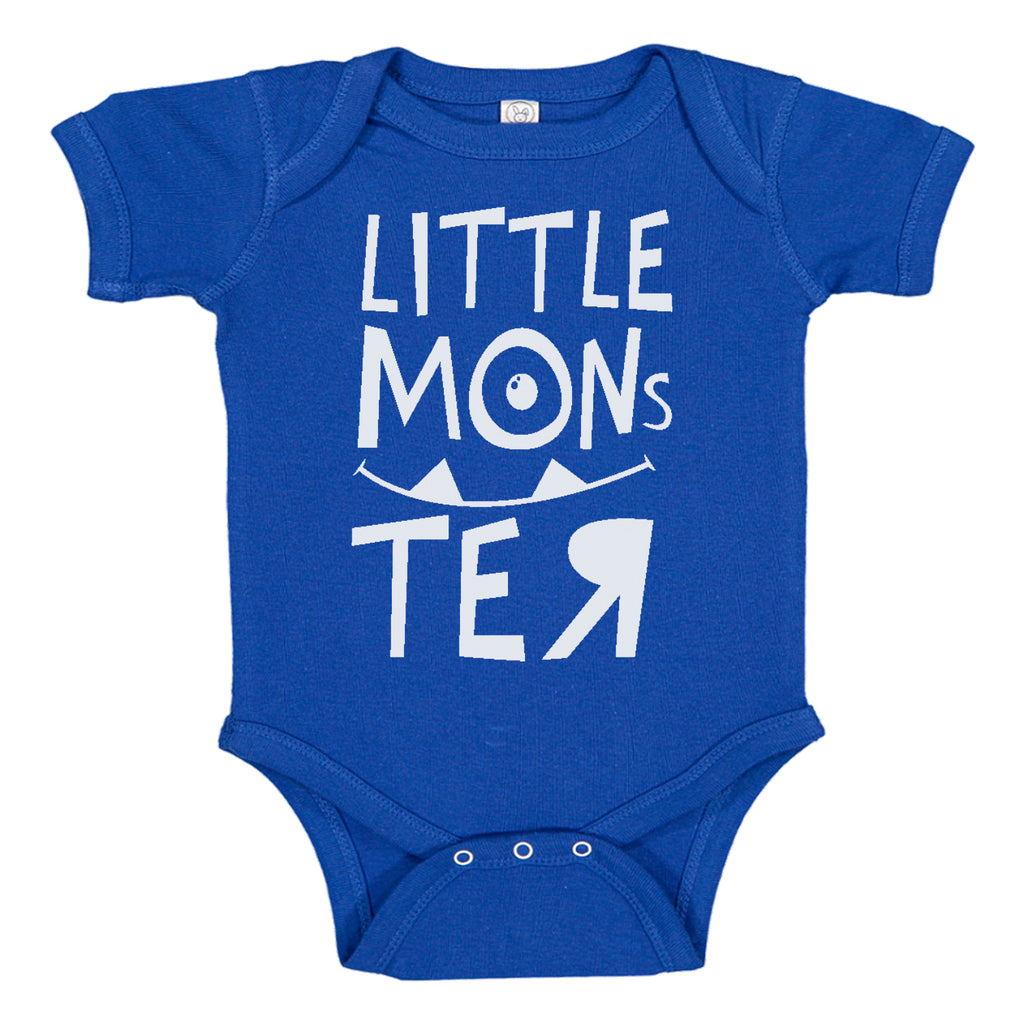Ink Trendz Little Monster Cute Monsters Movie Themed Baby Bodysuit, Disney Monsters Inc, Monster Onesie, Monsters Inc Onesie, Disney themed onesies