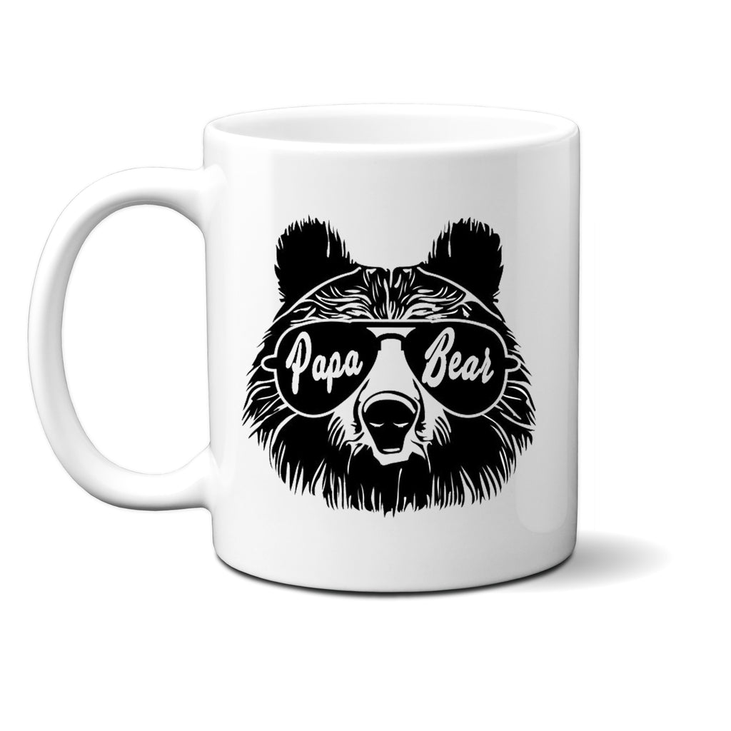 Ink Trendz® Papa Bear  Fathers Day Mug or Father Announcement  11 oz. Ceramic Coffee Mug, Papa Bear Mug, Papa Bear Apparel, Papa Bear Coffee Mug, Fathers Day Mug, Fathers Day Gift