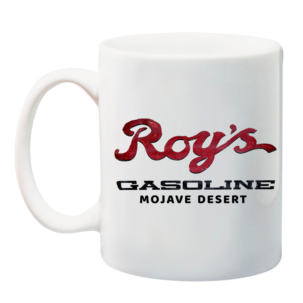 Ink Trendz® Roy's Gasoline Amboy Mojave Desert Cafe 11 oz. Ceramic Coffee Mug, Amboy California, Amboy California Apparel, Amboy Coffee Mug, Roy's Coffee Mug, Mojave Desert Coffee Mug, Mojave Desert Mug, Joshua Tree Coffee Mug, Joshua Tree Mug