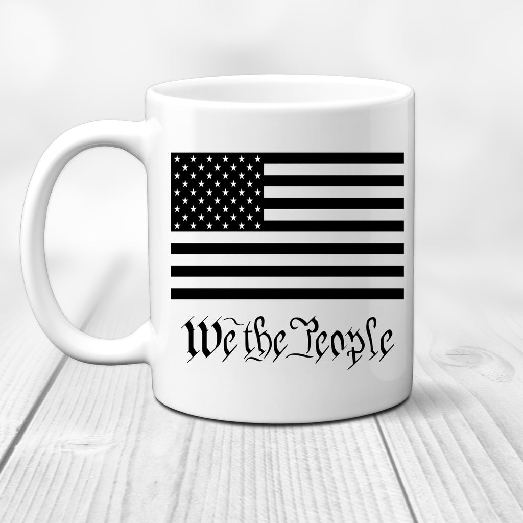 The Peoples Brigade We the People 11 Oz. Coffee Mug Cup