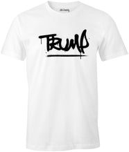 Load image into Gallery viewer, Grafitti President Trump Street Wear Style 2020 Pro-Trump Cotton T-Shirt
