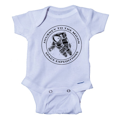 Ink Trendz® Journey to the Moon Space Expeditions Dabbing Astronaut Spaceman Baby Bodysuit Nasa Onesie, Nasa Baby Apparel, Nasa Baby Onesies, Nasa Baby Onesie, Nasa Baby tee, Astronaut Onesie