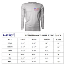 Load image into Gallery viewer, LPG Apparel Co. ALOHA Pipeline Surfer Long Sleeve Shirt for Unisex UPF 50 Dri-Fit Performance Rashguard T-Shirt