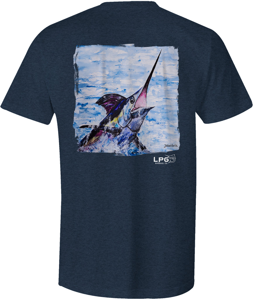 LPG Apparel Co. Surface Breaker Marlin Fishing T-Shirt