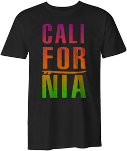 CALIFORNIA Surfing Tropical Style T-Shirt