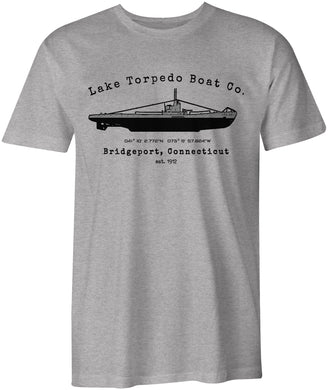 Lake Torpedo Boat Co. S-Class Submarine Bridgeport Connecticut T-Shirt
