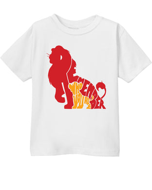 Remember Who You Are Simba Lion KingThemed Toddler T-Shirt