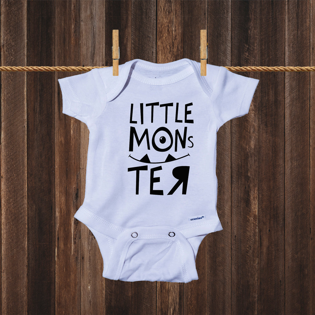 Ink Trendz Little Monster Cute Monsters Movie Themed Baby Bodysuit