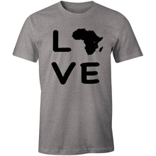 Load image into Gallery viewer, LOVE Africa Continent T-shirt