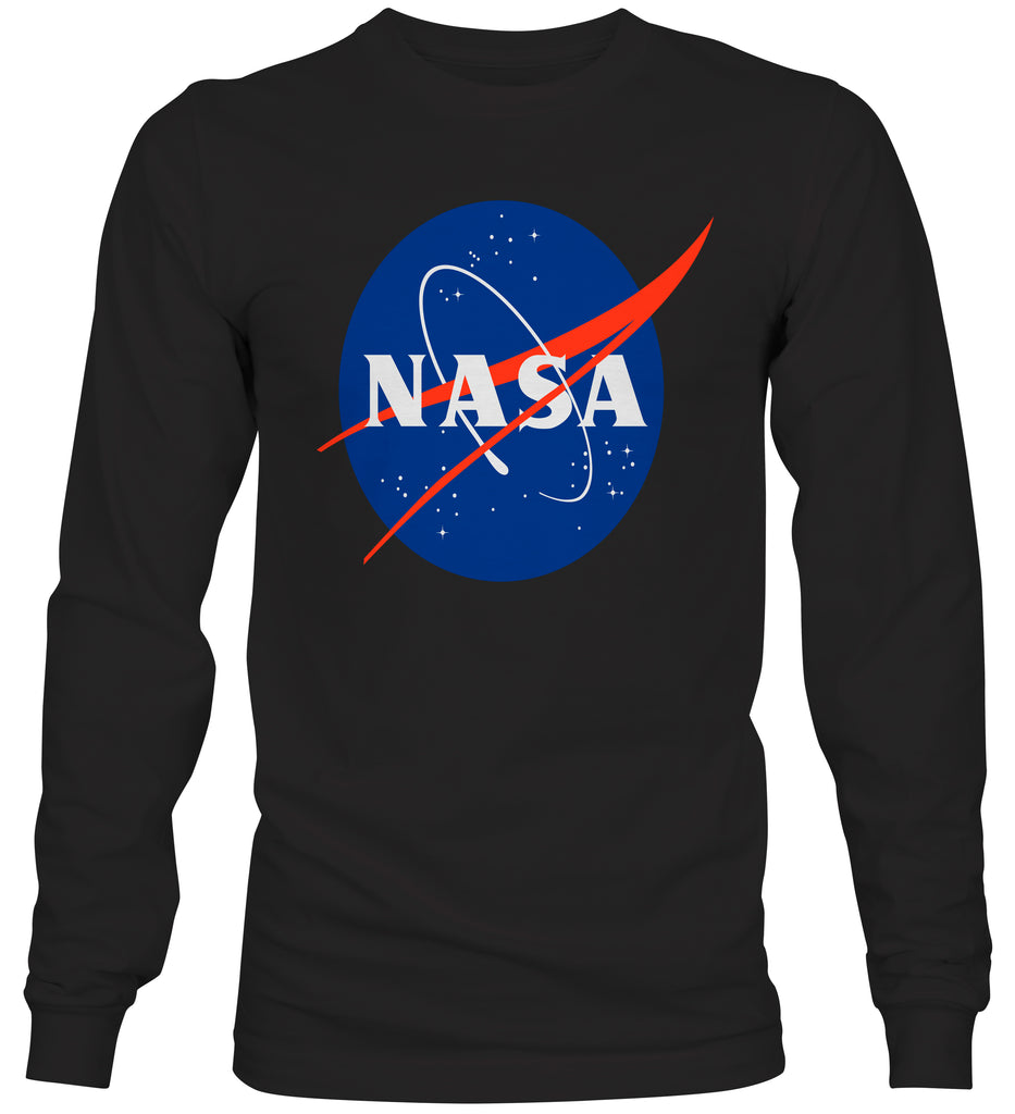 Nasa Logo Space Exploration Crewneck Sweatshirt