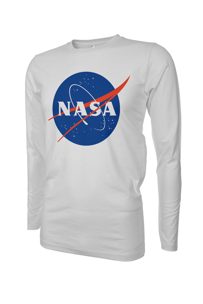 NASA Meatball Logo Long Sleeve Performance UPF50 T-Shirt