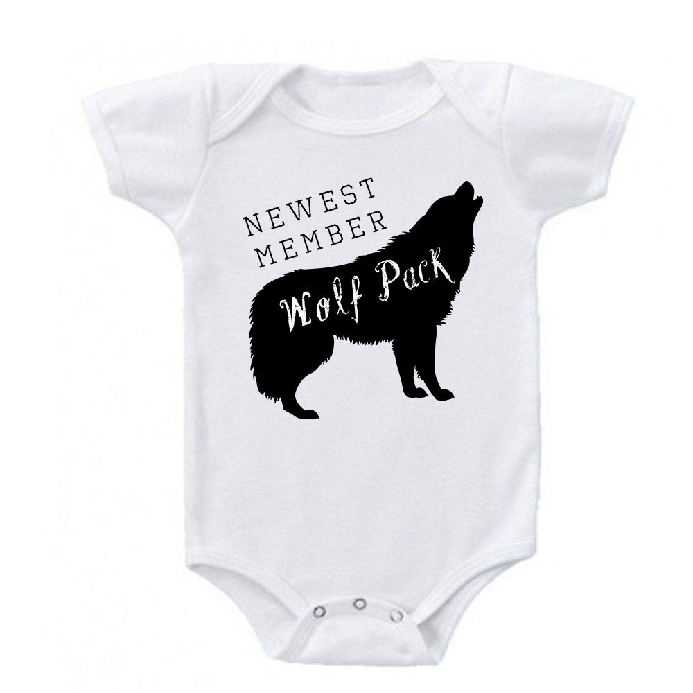 Newest Member of the Wolf Pack Baby Bodysuit
