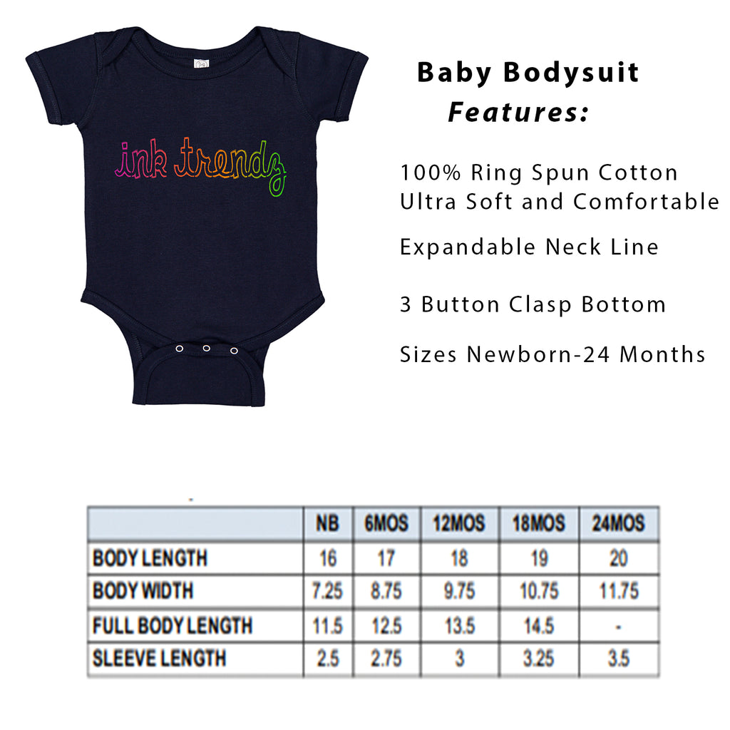 Daddy's Lil Buckaroo Country Style Baby Bodysuit