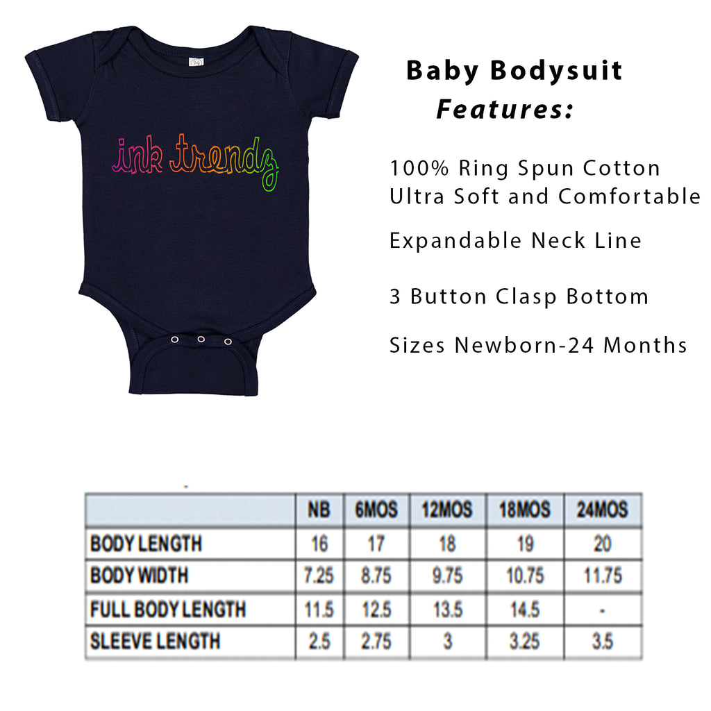 White Marlin Canyon Map Fishing Baby Bodysuit Romper