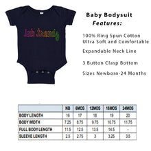 Load image into Gallery viewer, Daddy's Lil Buckaroo Rasta Baby Bodysuit Onesie