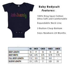 Load image into Gallery viewer, Ink Trendz® Baby Coming Soon Foot Prints Pregnancy Reveal Announcement Baby Romper Bodysuit