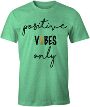 Load image into Gallery viewer, Positive Vibes Only Infertility IUI IVF Mommy TriBlend T-Shirt