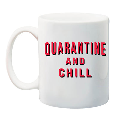 Ink Trendz® Quarantine And Chill 11 oz. Ceramic Coffee Mug, Netflix and chill