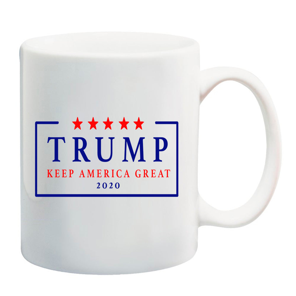 Re Elect Trump 2020 Election USA Keep America Great Again Signature Mug